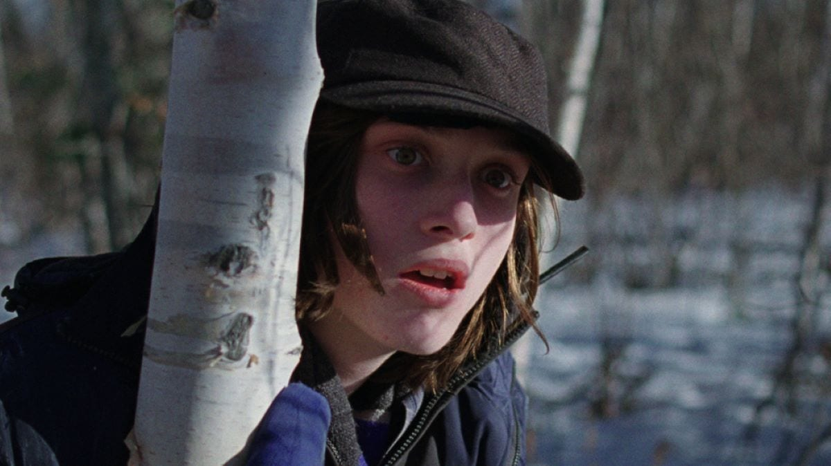 Max Records observes a murder in the woods in I Am Not A Serial Killer