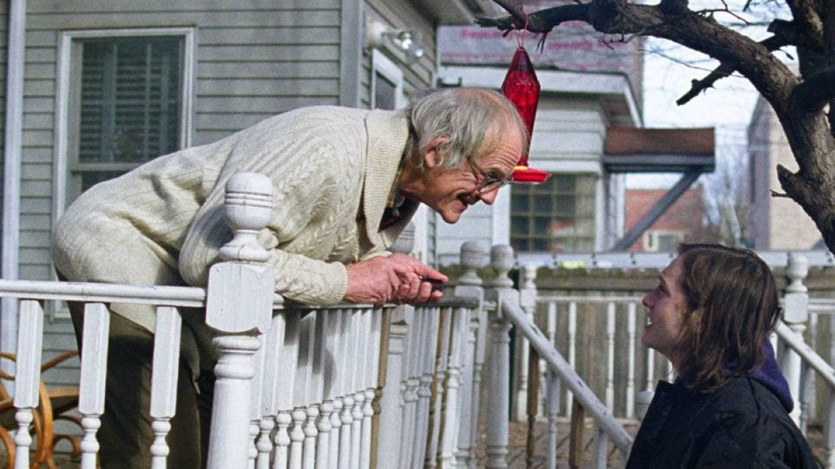 John helps out his elderly neighbour Mr Crowley in I Am Not A Serial Killer