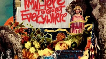 Album Cover: Nowhere to Go but Everywhere by Ryan Hamilton and the Harlequin Ghosts