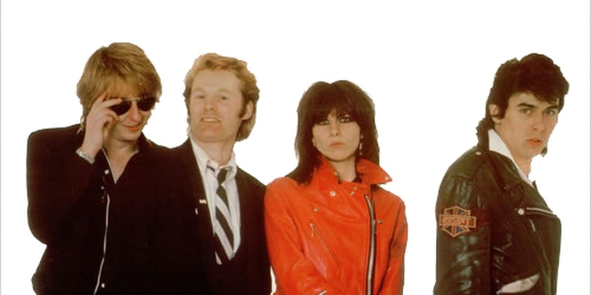 The Pretenders Debut Album Cover