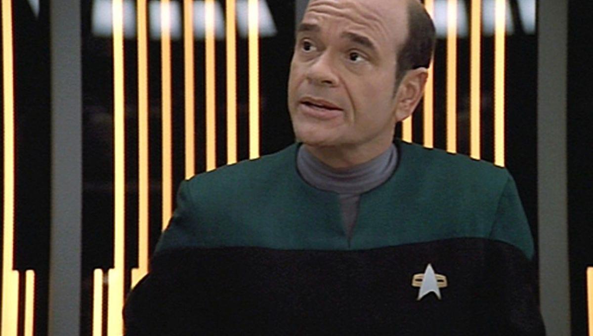 Robert Picardo as the Emergency Medical Hologram in Star Trek: Voyager