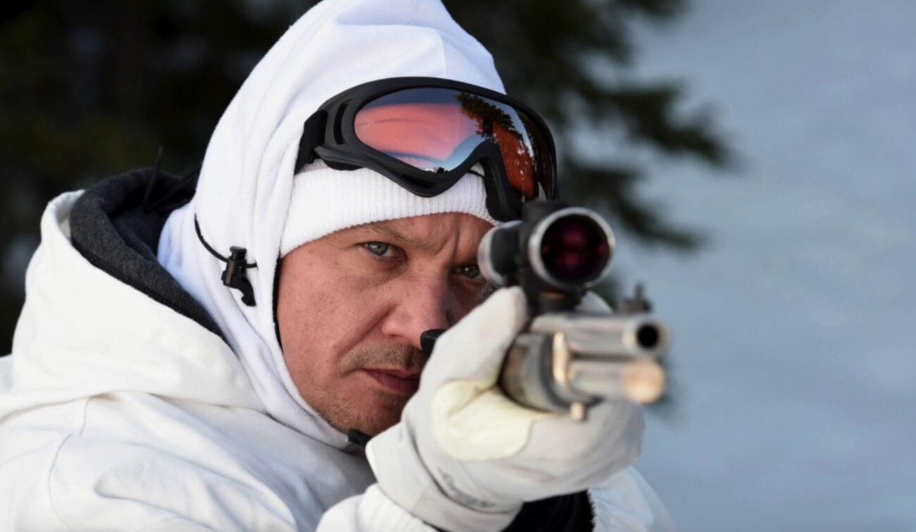 Jeremy Renner takes aim as Cory Lambert in Wind River