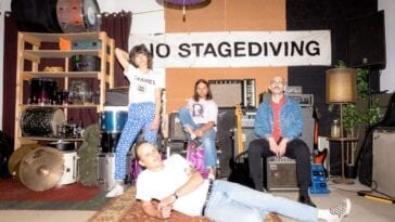 Teenager band promo image