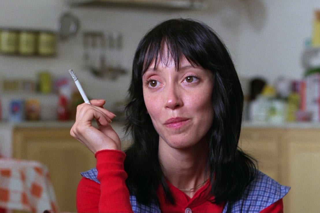 Shelley Duvall as Wendy in Stanley Kubrick's The Shining