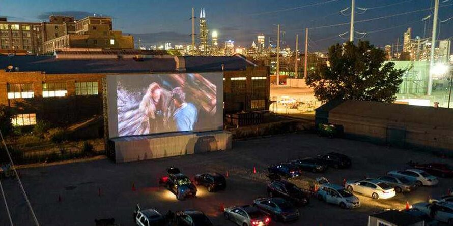 The Chi-Town Drive-In hosts a portion of the 56th Chicago International Film Festival