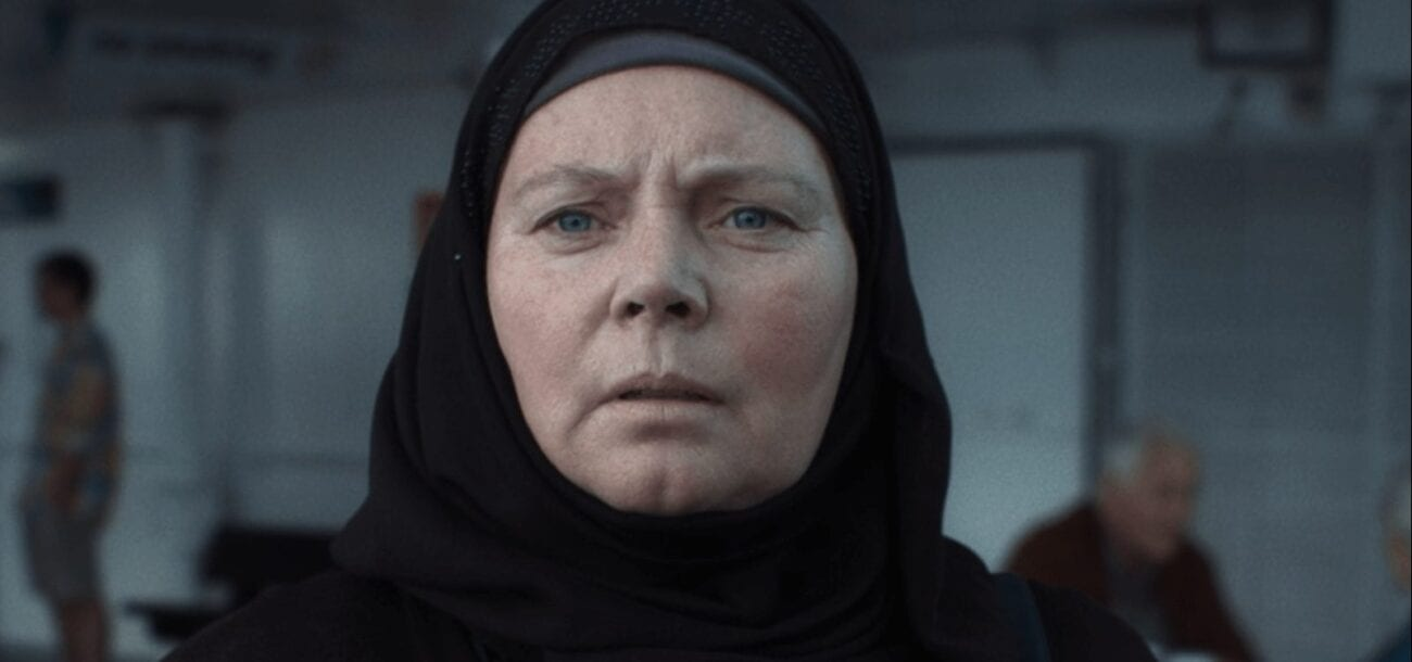 Joanna Scanlan and Mary/Fahima in After Love