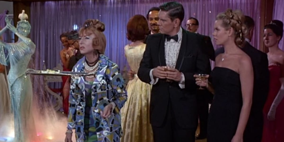 Endora, Darrin and Samantha in Bewitched