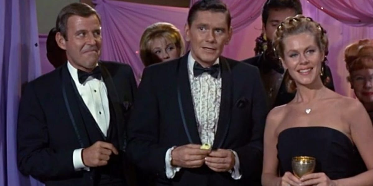 Arthur, Darrin and Samantha in Bewitched