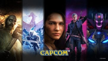 A display of Capcom images