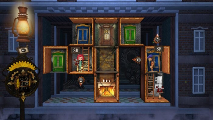 A co-op level in Rooms the adventure of Anne and George.