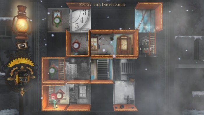 The final level in Rooms.