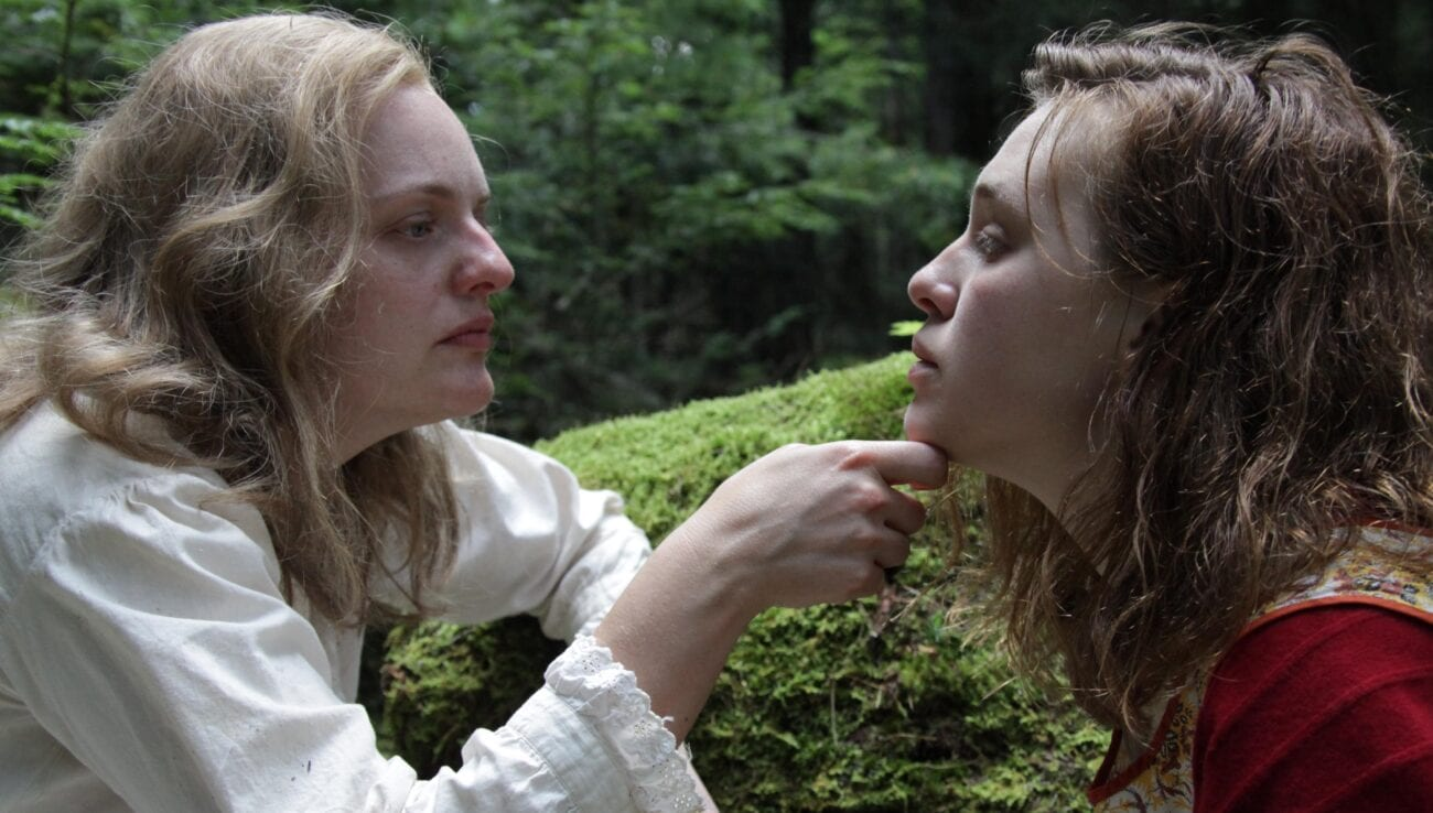 Elizabeth Moss and Odessa Young as Shirley and Rose in Shirley