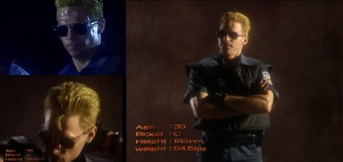 Albert Wesker could care less. Take his picture already. He's over this.