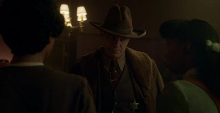 Fargo's Deafy stares down Ethelrida and her mother