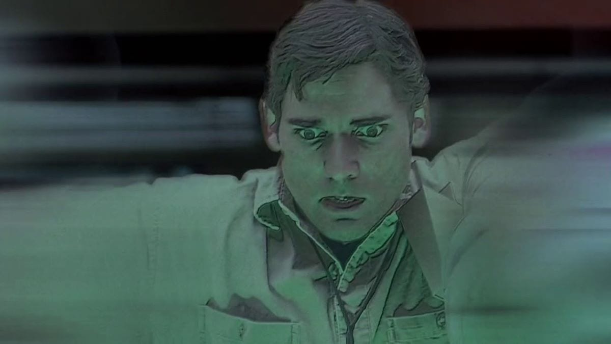 Bruce Banner is the victim of an accident in Hulk
