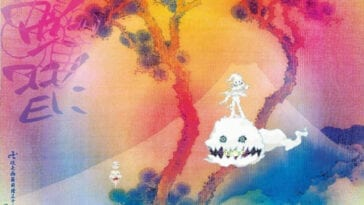 Takashi Murakami's album artwork for Kids See Ghosts