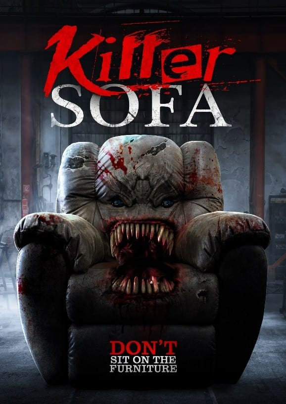 Killer sofa movie poster