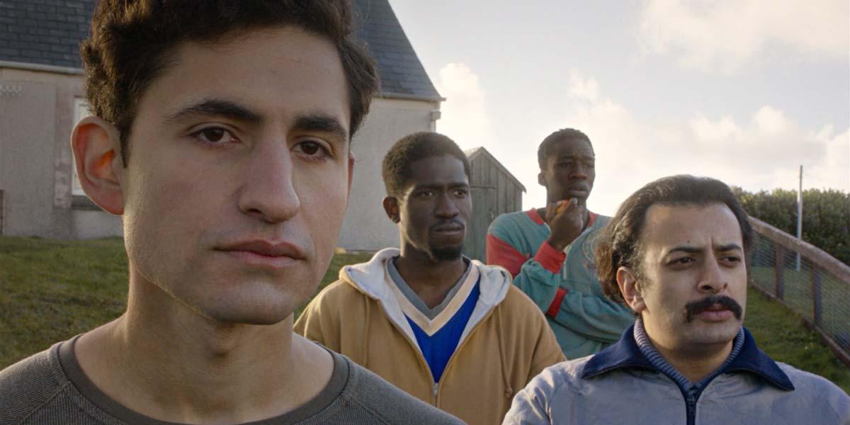 (left to right) Amir El-Masry, Ola Orebiyi, Kwabena Ansah and Vikash Bhai in Limbo