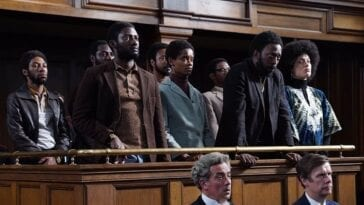 Mangrove, Shaun Parkes, Letitia Wright et al in the dock as the Mangrove nine