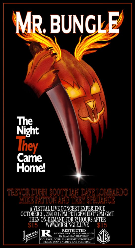 Mr Bungle The Night They Came Home poster