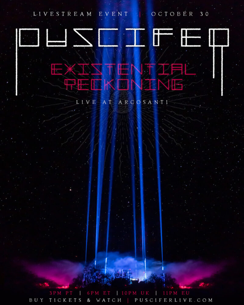 """""""EXISTENTIAL RECKONING: LIVE AT ARCOSANTI"""""""
