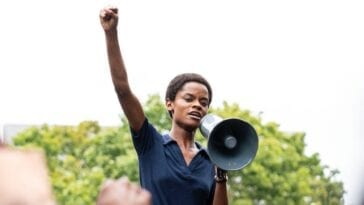 Letitia Wright as Altheia Jones in Mangrove