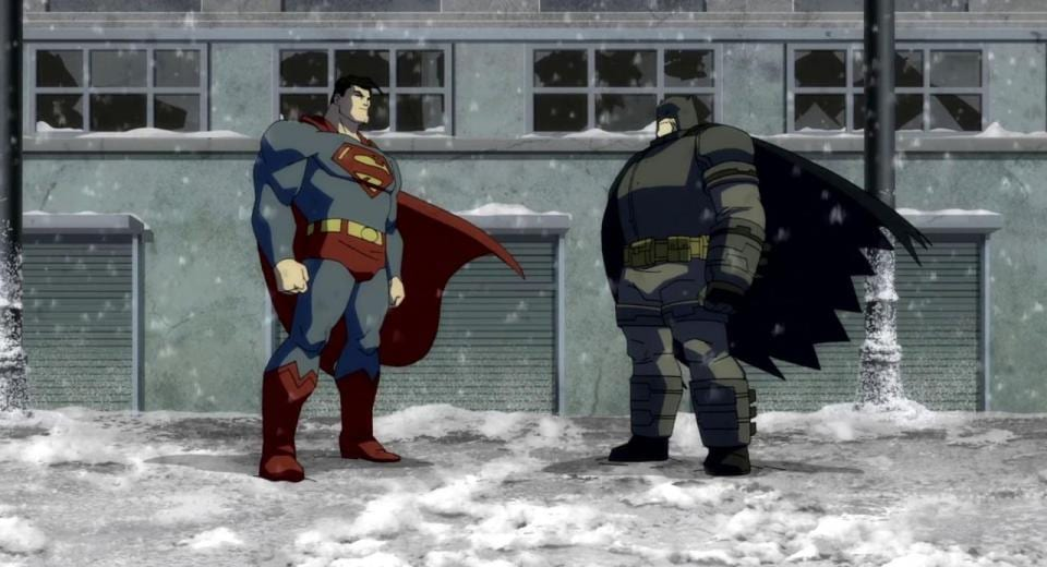 Batman squares up to Superman