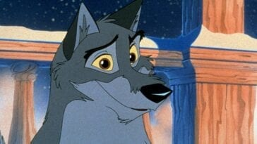 Balto smiling