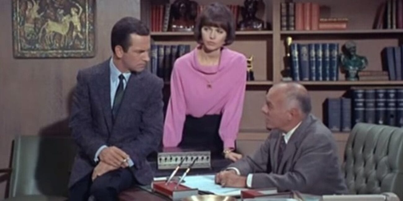 Maxwell Smart, Agent 99, and the Chief in Get Smart