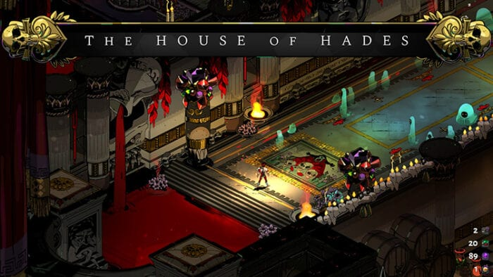 House of Hades, the pool of blood from which Zagreus emerges after each defeat.