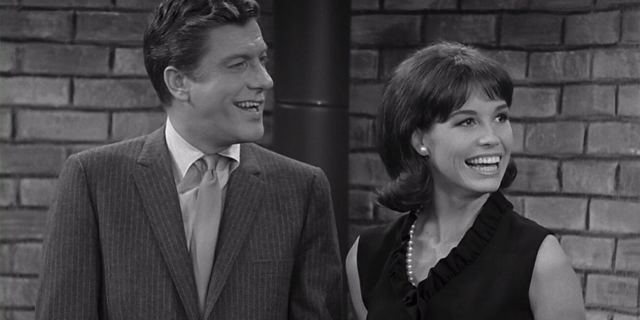 Rob and Laura in The Dick Van Dyke Show