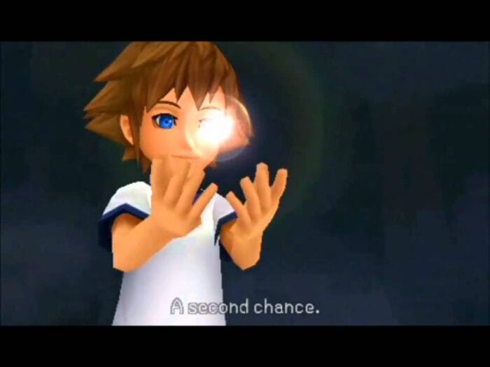 Ventus' heart appears inside of Sora