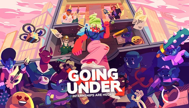 Title page for Going Under: Internships are Heck