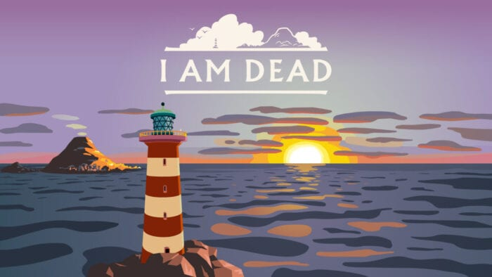 Title art for I Am Dead