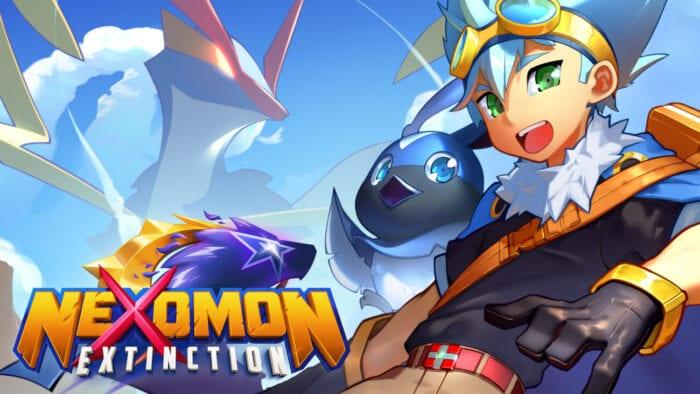 Title art for Nexomon: Extinction