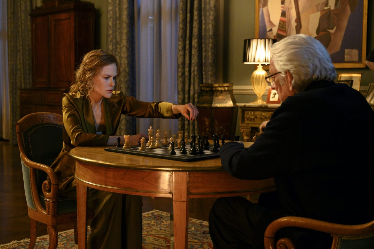 Franklin and Grace play chess