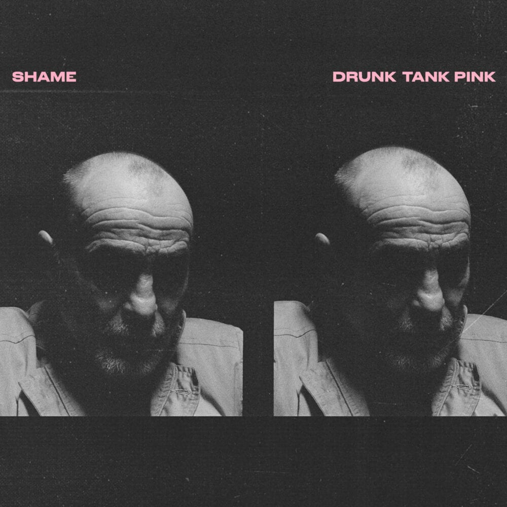 shame drunk tank pink album cover