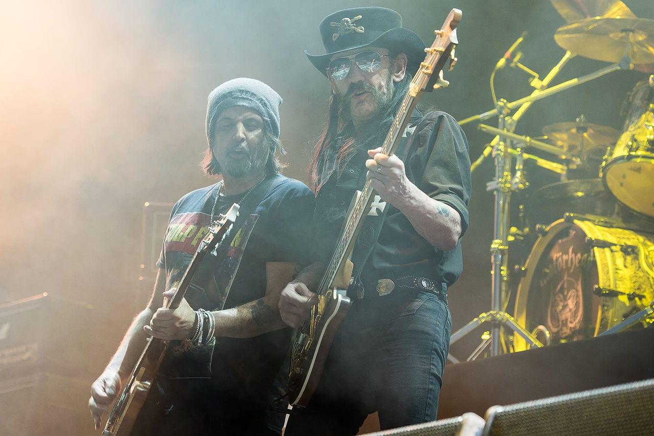 Motorhead on stage
