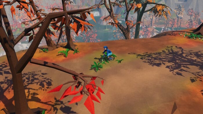 Lonely Mountains: Downhill is a stylized isometric indie biking game