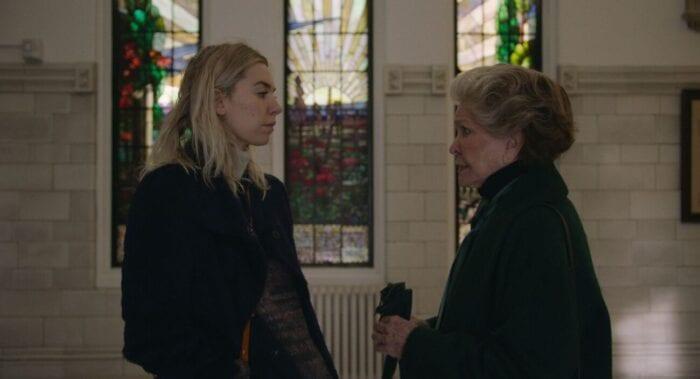 Martha talks to her mother Elizabeth.