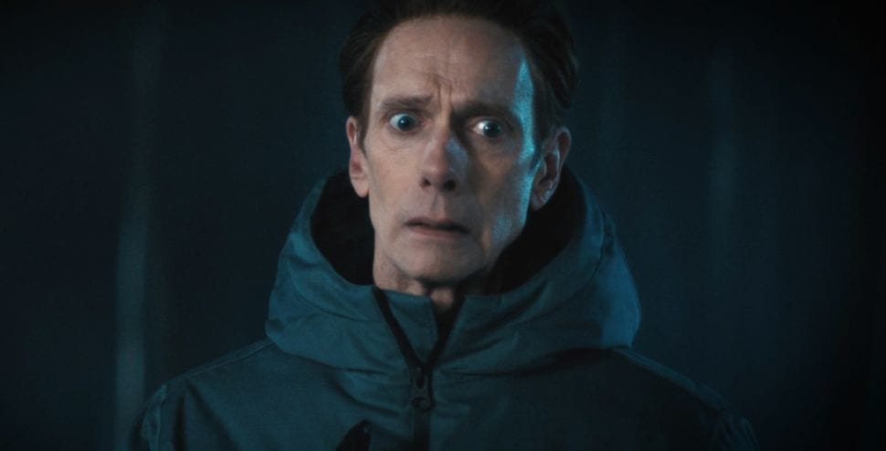 "Captain Saru (Doug Jones) looks quizzically to the side, as a human in Star Trek Discovery S3E11 ""Su'Kal"""