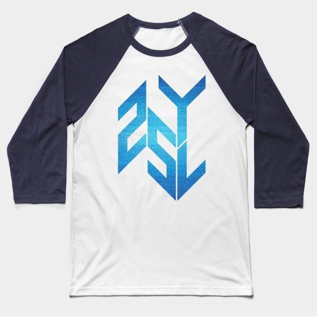 Adults baseball shirt static logo