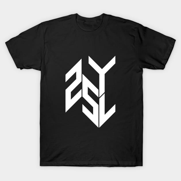 Men's T-shirts in the 25yl merch store