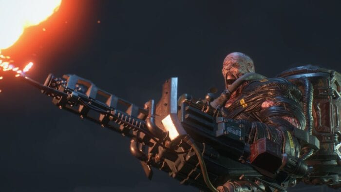 Nemesis with a flamethrower.