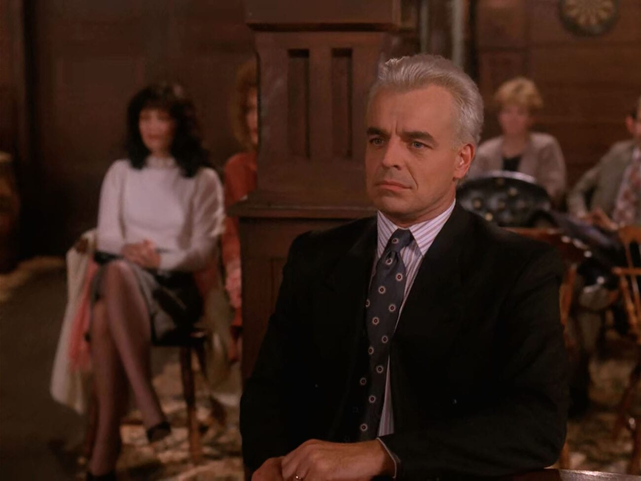 Leland Palmer sits calmly at The Roadhouse as he awaits the verdict on his bail hearing