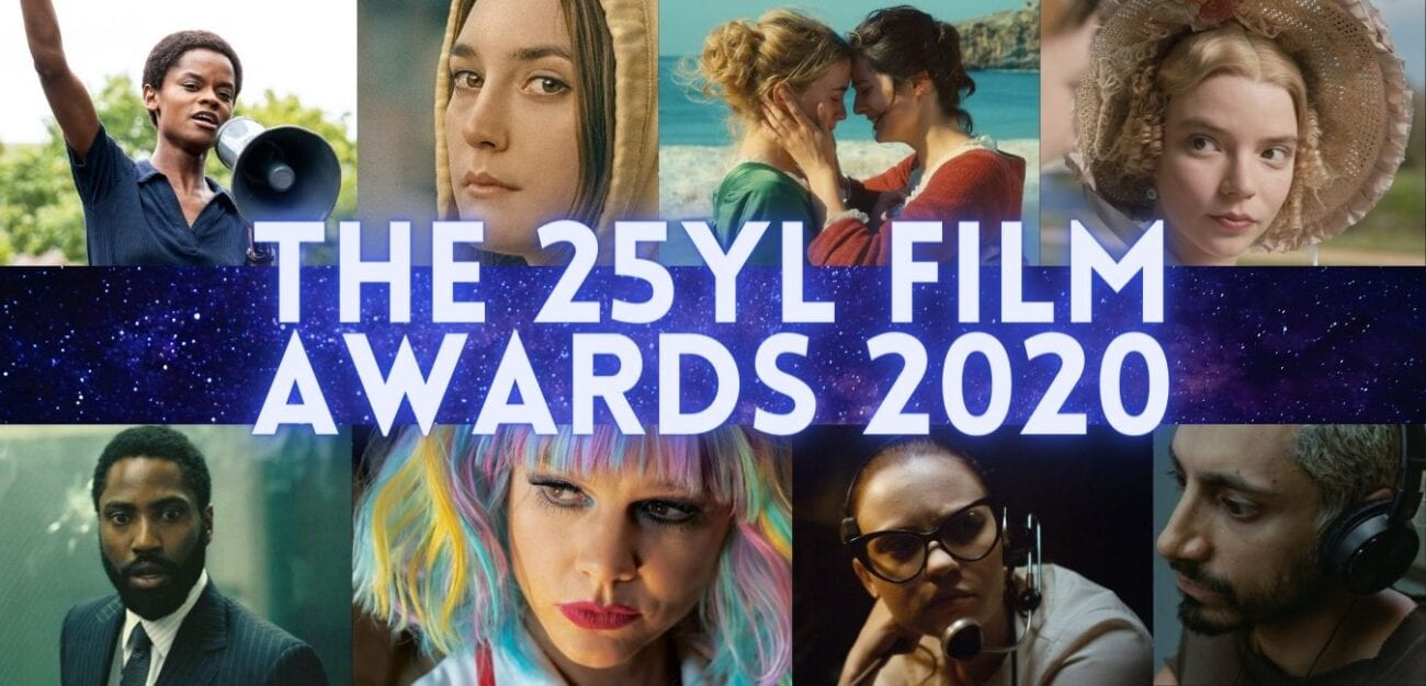 25YL film awards header