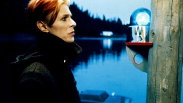 Still taken from The Man Who Fell to Earth, used for the cover of Low