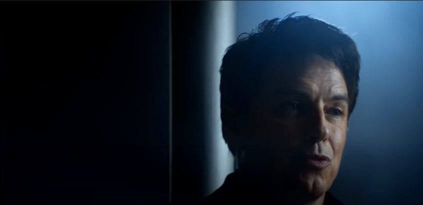 "Captain Jack Harkness (John Barrowman) looks on in Doctor Who ""Revolution of the Daleks"""