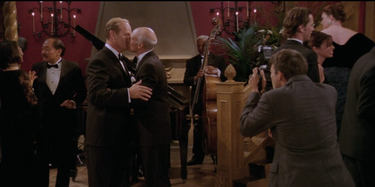 Alistair kisses Frasier