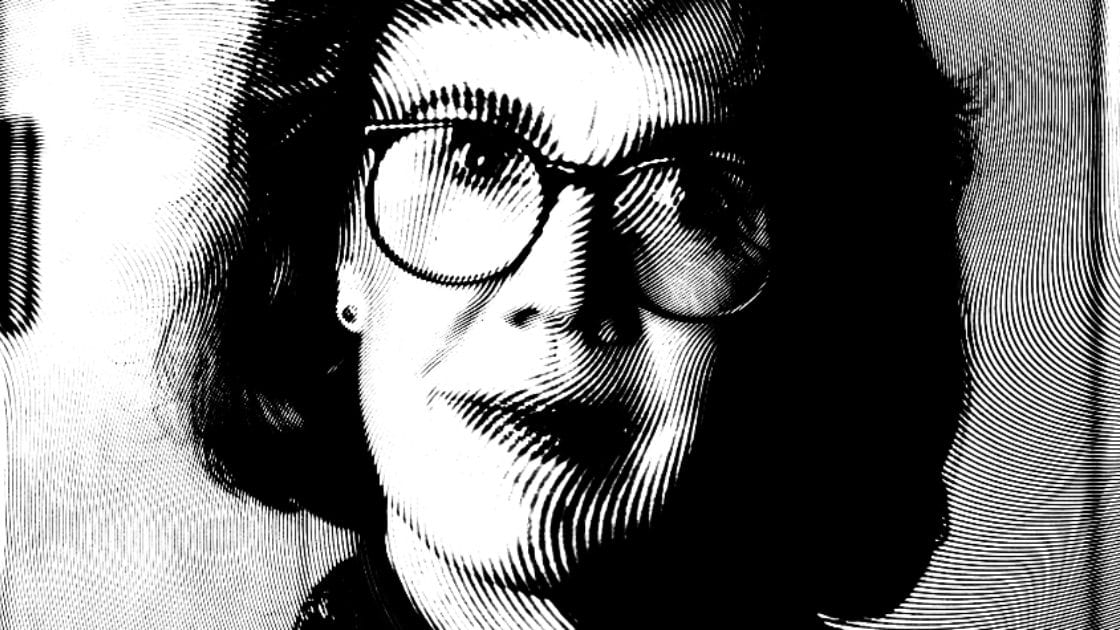 Log Lady altered image